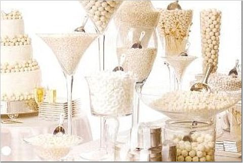 Candy Buffet Monochromatic
