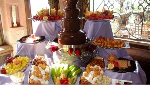 Chocolate Fountain Buffet by Sir Chocolate