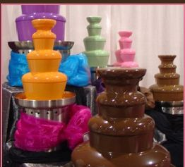 Chocolate Fountain Colors