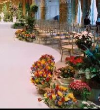Aisle Planters: Frank Events