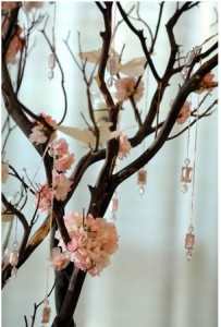 Tall Branch Wedding Centerpieces