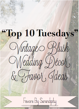 Top 10 Tuesdays - vintage blush