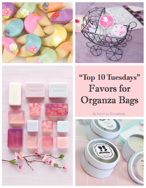 top 10 tuesdays - organza bags