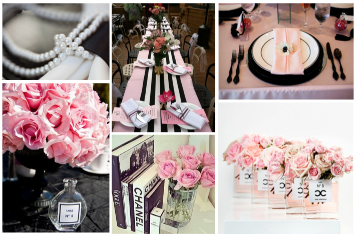 Coco chanel inspired bridal shower your wedding whisperer decor filmwisefo