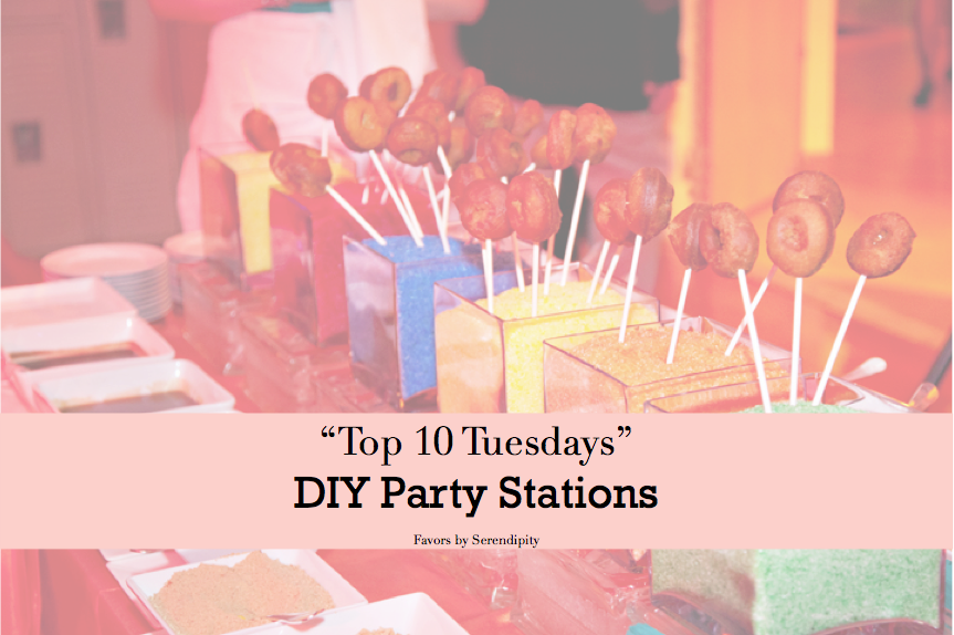 Top 10 Tuesday - DIY Party Stations