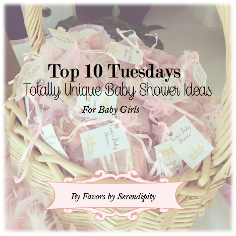 Top 10 Tuesdays - Baby Showers for girls