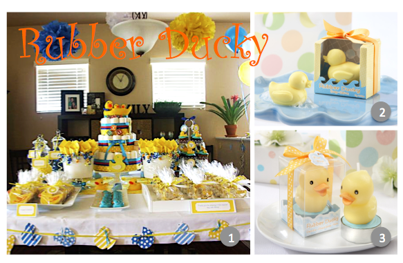 Rubber Ducky Nursery Decor Top 10 Tuesdays Totally Unique Baby Shower Ideas  For Baby Boys